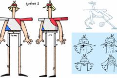 Badminton character sheet