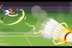 Badminton concept
